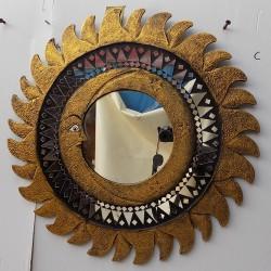 Specchio sole luna Oro...