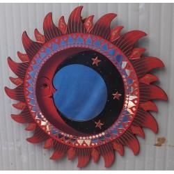 Specchio sole luna rosso...