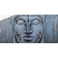 Quadro Buddha cm 200x100...