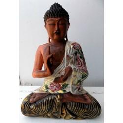 Buddha in legno cm...