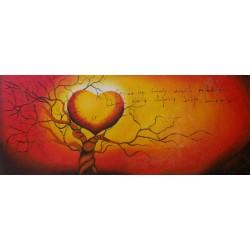 Quadro albero vita cuore...