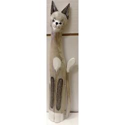 Gatto in legno cm 100...