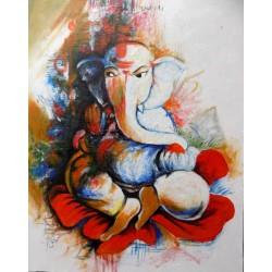 Quadro Ganesh cm 90x70...
