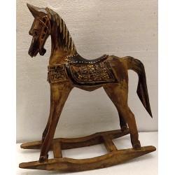 Cavallino in legno a...