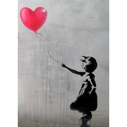 Quadro astratto street art...