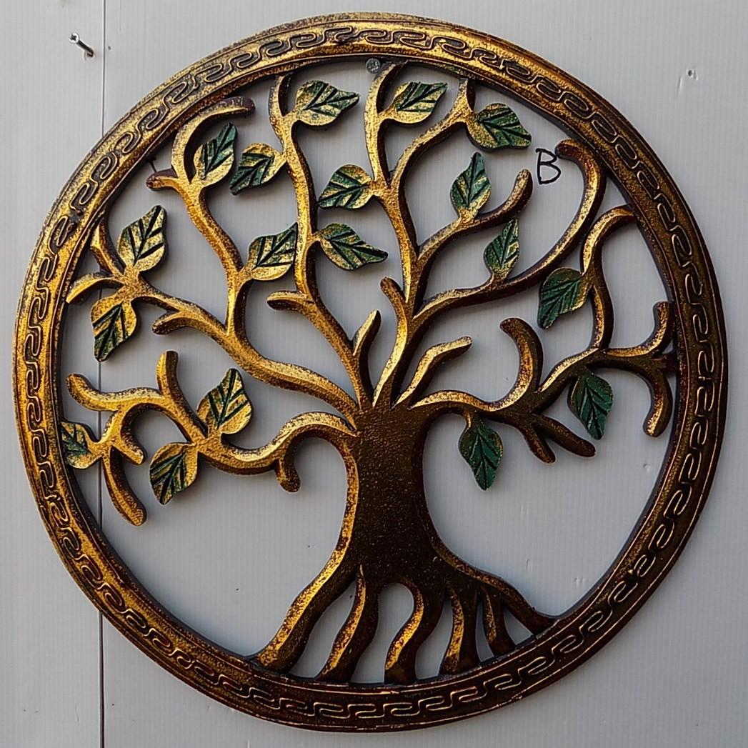 Pannello-albero-della-vita-legno-mdf-traforato-a-mano-diametro-cm-40-bianco-arge miniatura 11