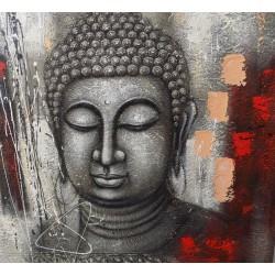Quadro Buddha cm 100x100...