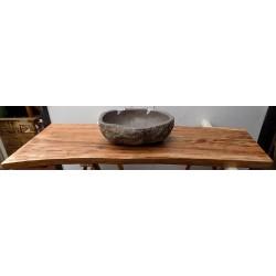Piano in legno massello...