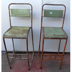 Sedia sgabello Vintage in...