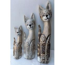 Famiglia di 3 Gatti creati...