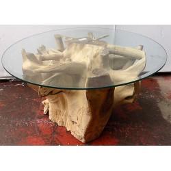 Tavolino da caffè in radice...