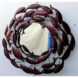 Specchio in metallo con...