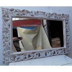 Specchio barocco in legno...