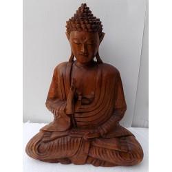 Buddha in legno massello...