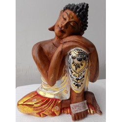 Statua di Buddha relax in...