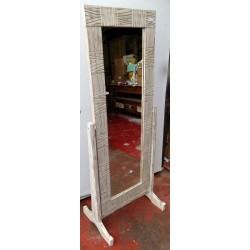 Specchio in legno con...