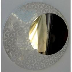 Specchio in sole fiore a...