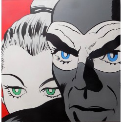 Quadro Diabolik ed Eva Kant...